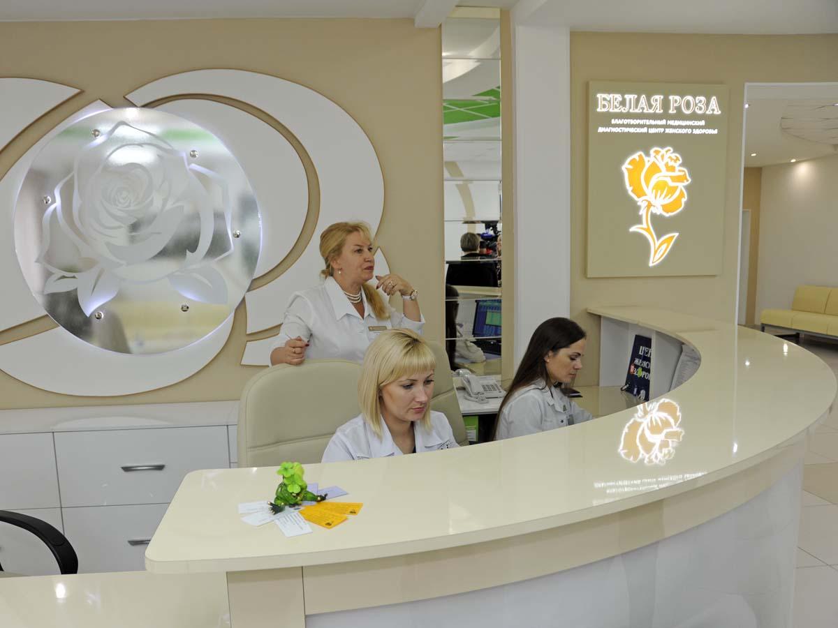Поликлиника белые розы архангельск